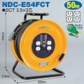 【送料無料】電工ドラム 標準型ドラム(屋内型) NDC-E54FCT 50m アース付 日動工業 [作業工具][産業機械][電工ドラム][コードリール][標準型ドラム]