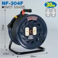 【送料無料】電工ドラム 極太(3.5mm2)電線仕様ドラム(屋内型) NF-304F 30m アース無 標準型 日動工業 [作業工具][産業機械][電工ドラム][コードリール][標準型ドラム]