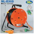 【送料無料】電工ドラム 延長コード型ドラム(びっくリール)屋内型 NL-E30S 30m(3m+27m)アース付 日動工業 [作業工具][産業機械][電工ドラム][コードリール][延長コード型ドラム]