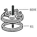 NK-スプレヤー部品 60-H ロックハンドル [ケミカル用材][噴霧器][NKスプレヤーオプション][部品]