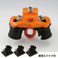 【送料無料】三脚ヘッド Vハンガー+専用スパイク3個セット VK-10+VKS-10 バイタル工業 限界荷重1t