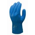 耐油性裏布付手袋 耐油ビニローブ (10双) NO650 ショウワグローブ [保護保安用材][保護手袋][作業用手袋][水][油用手袋]