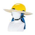 ヘルメット用麦わらバイザー 6766 川西工業