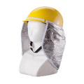 ヘルメット用日除けカバー 遮光タイプ 6732 川西工業