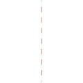 【送料無料】精密ピンポール 1.5m φ9mm(赤白) 二段石突付 WSP-150IS 大平産業