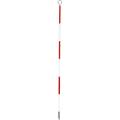 【送料無料】精密ピンポール 60cm φ9mm(赤白) 円錐石突付 WSP-60P1 大平産業