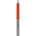 【送料無料】精密ピンポール(接続用) 10cm φ9mm(シルバー生地、赤色印刷) SPP-10 大平産業