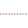 【送料無料】丁張板 7.5cm幅×4m 20cm赤白(20本入) T4-7520