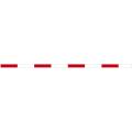 【送料無料】丁張板 10cm幅×4m 50cm赤白(15本入) T4-1050