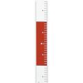 【送料無料】エコロッド(丁張用テープ) 幅50mm×25m 20cm赤白 ER-5020 大平産業