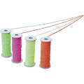 【送料無料】のびた(蛍光色カラーゴム糸) 赤 φ3mm×30m NBIR 大平産業