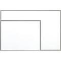 【送料無料】月予定ホワイトボード 無地型 600×900mm H-609 大平産業 [個人宅宅配不可]