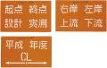 【送料無料】トップマーキング 3枚組 (文字)  TOP-70M 大平産業
