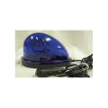 【送料無料】車載型ハイパワーLED回転灯 青 840カンデラ BFM-LED-B