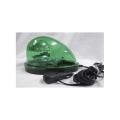 【送料無料】車載型ハイパワーLED回転灯 緑 980カンデラ BFM-LED-G