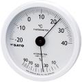 【送料無料】ホワイティ温湿度計 温度・湿度 1022-00