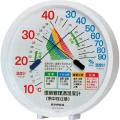 【送料無料】環境管理温・湿度計 「熱中症注意」 約124×120×27mm TM-2484