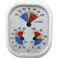 【送料無料】不快指数計・温度計・湿度計 不快指数・温度・湿度 CF431