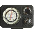 【送料無料】トラベルエイド3型 6in1 温度計、ミニライト、オイルコンパス、非常用ミラー付き高度計 No.1230