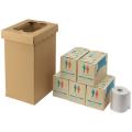 【送料無料】 非常用トイレ袋 くるくるトイレ 100枚入 100回分 400-785