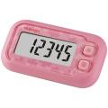 【送料無料】 ポケット万歩計 Sakura Pink EX-200P YAMASA