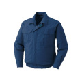 【送料無料】空調服 綿100% ダークブルー M / リチウムイオンバッテリーセット CN303-M/CN192-L つくし工房