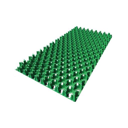 【送料無料】天然芝生の駐車場を実現 駐車場緑化芝生保護材 ターフパーキング TP-2 ハーフ 8枚 【エコマーク認定品】