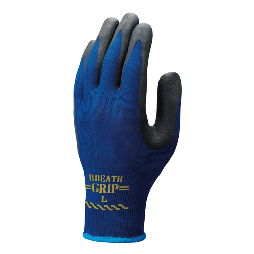 背抜きスベリ止め手袋 ブレスグリップ (10双) NO380 ショウワグローブ [保護保安用材][保護手袋][作業用手袋][一般作業用手袋]