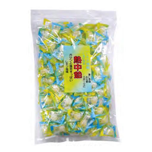 【送料無料】熱中あめ 1kg(約210粒) CAN-1(レモン味) [その他][ガテン系!おすすめ商品特集][熱中症対策特集]