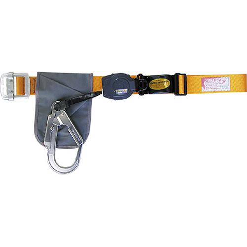 【送料無料】安全帯(一本吊り用) 大口径フック・軽量タイプ  SL505YL