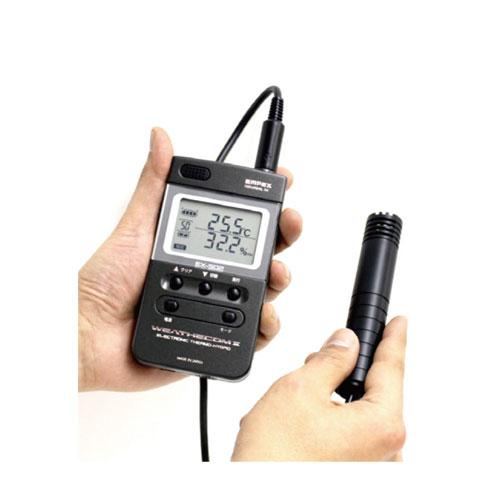 【送料無料】デジタル温湿度計 ウェザーコム2 EX-502