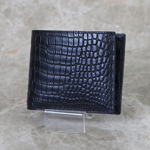 無双二つ折り財布(切り目)横カード 小銭入れ付き[HI1301MK]