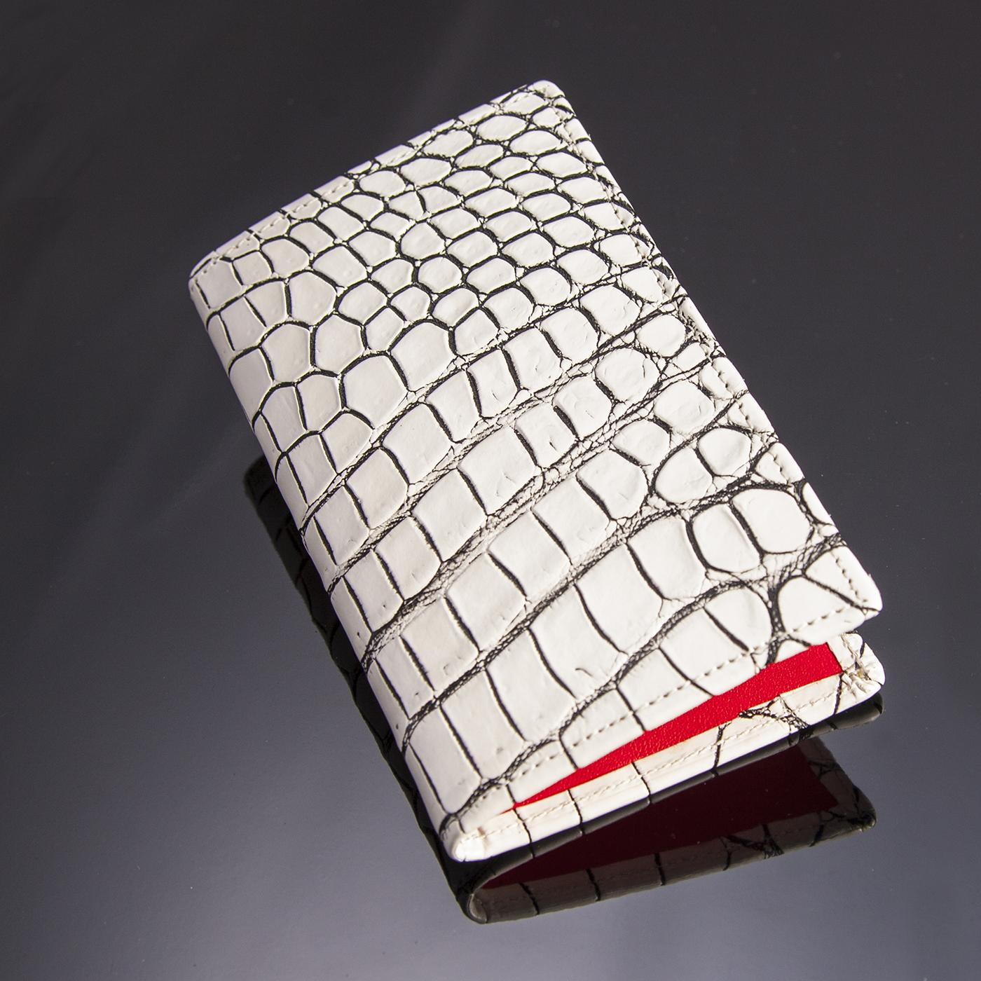 クロコダイル8枚カードケース[M1708]