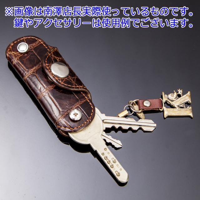 クロコダイルコンパクトキーケース[0715KA01]