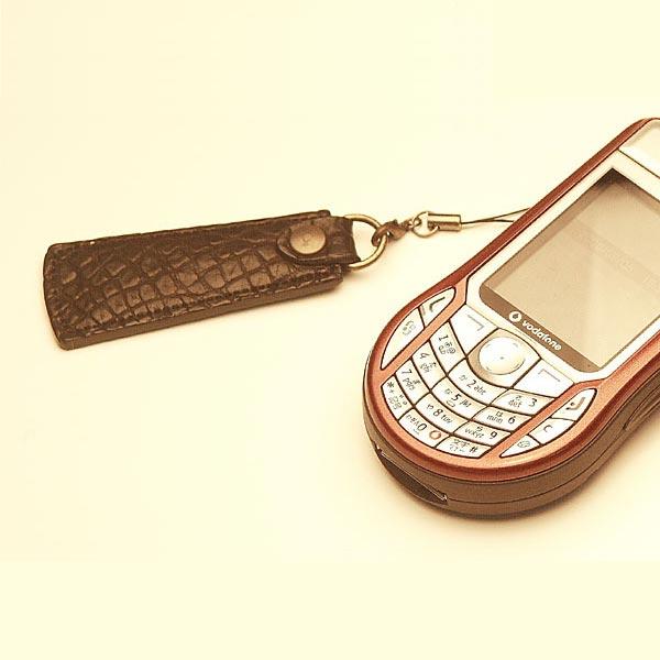 クロコダイル携帯ストラップ(靴べら)