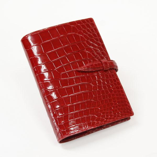 クロコダイルバイブルサイズ手帳カバー(無双)