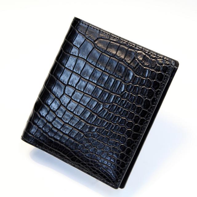 比留間 二つ折り財布(切れ目) 横カード