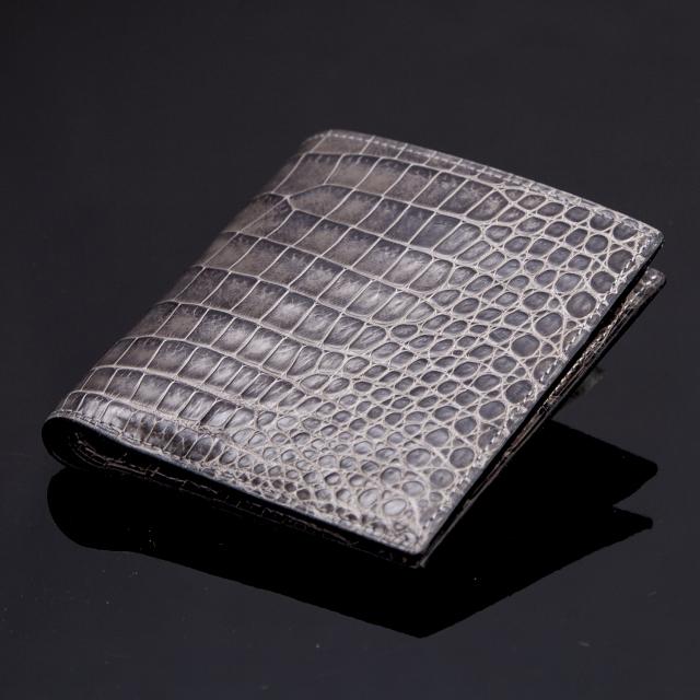 無双二つ折り財布(切り目)縦カード [HI1302M]