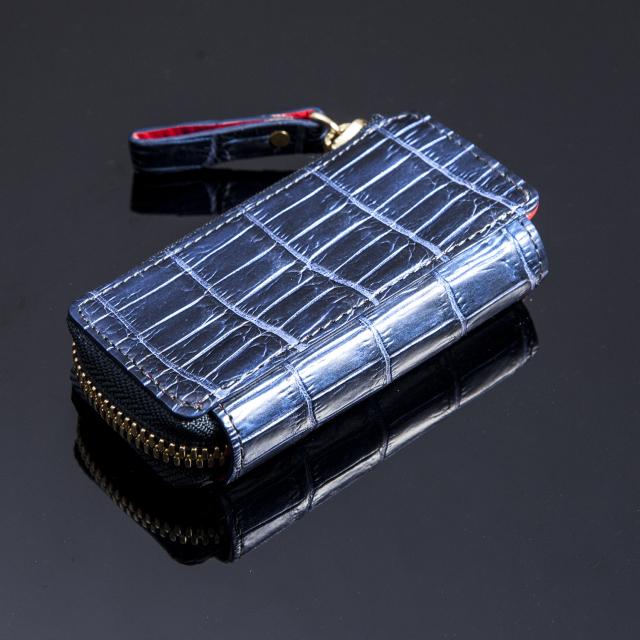 クロコダイルコンパクトコインケース[K1604]
