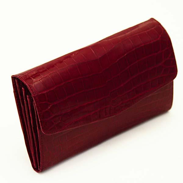 クロコダイルパーティー用長財布