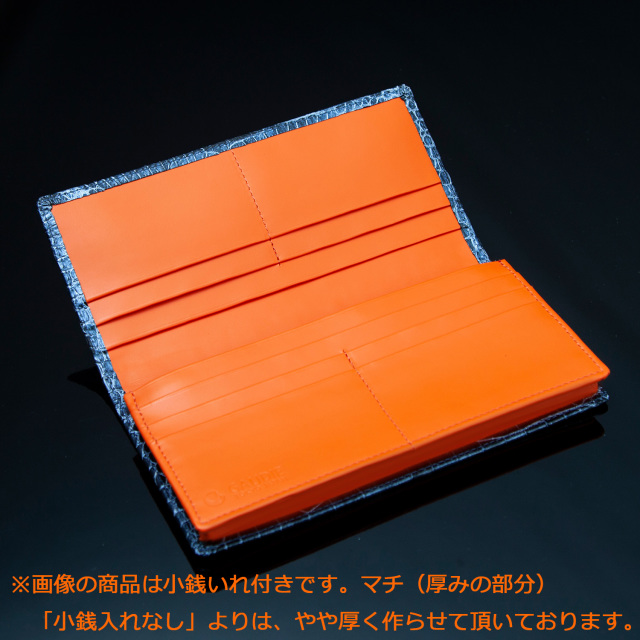 クロコダイルロングウォレット8枚カード[M0703]