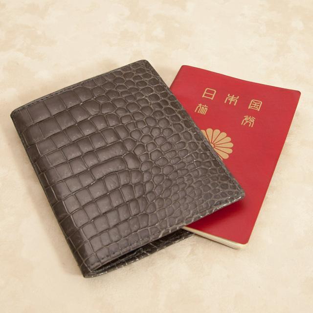 クロコダイルパスポートケース[M0817]