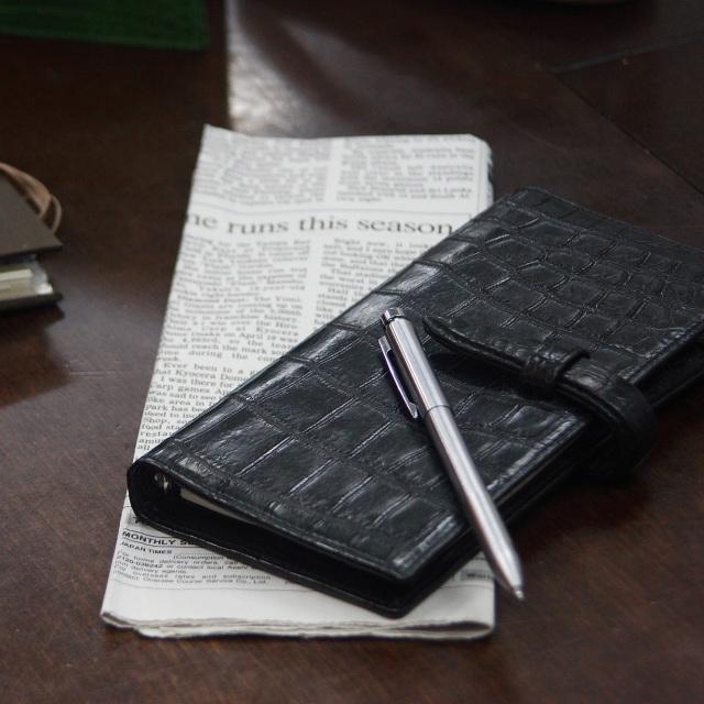 テール クロコダイルシステム手帳-縦長タイプ [TM0602]