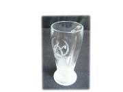 ビアグラス彫刻画像