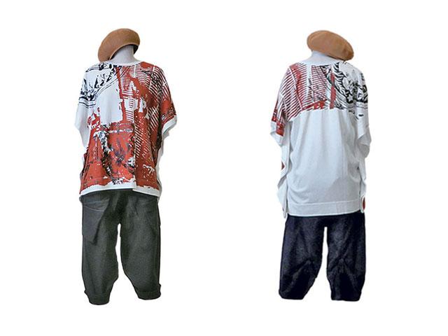 【Vivienne Westwood】レディ-ス◇02(ONE)サイズ☆夏のポンチョタイプTシャツ☆アニマルプリントやオウブがヴィヴィアンらしさ満載☆彡20%OFF