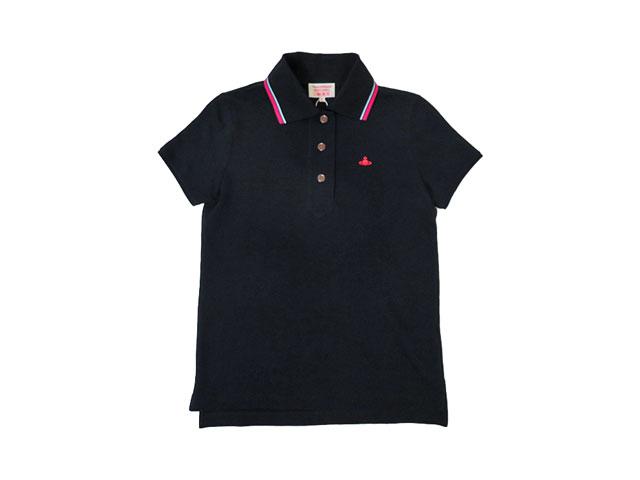 【Vivienne Westwood RED LABEL】レディース 02(M~L)サイズ◇スッキリ綺麗に着て頂ける半袖ポロシャツ☆Sサイズ男子にもおススメの一着☆彡20%OFF