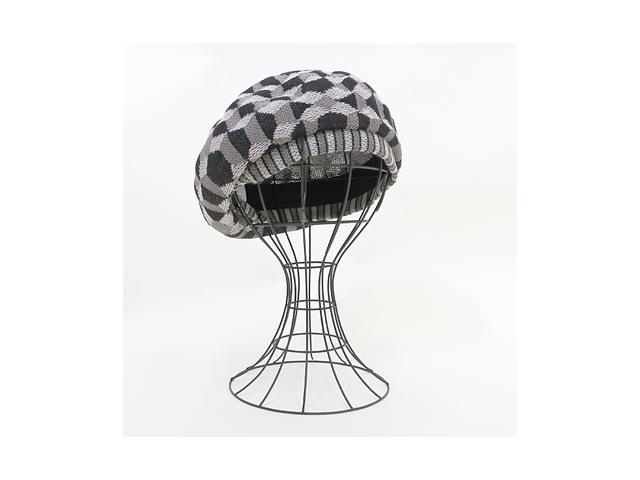 【ヴィヴィアンウエストウッド】レディース&メンズ◇S~Mサイズ◇立体的に見えるベレー☆彡織り柄は流石です♪