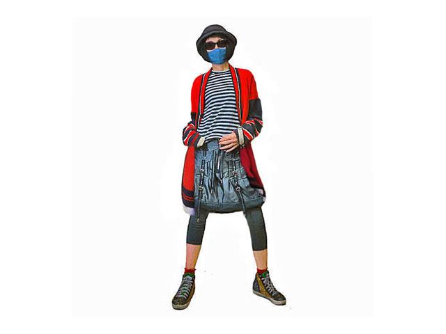 【Vivienne Westwood Anglomania】レディース&メンズ 38(ONE)サイズ☆ゆるく着るロングカーデ☆優しいコットン100%素材☆ラウンドシルエットもイイ感じです☆彡20%OFF
