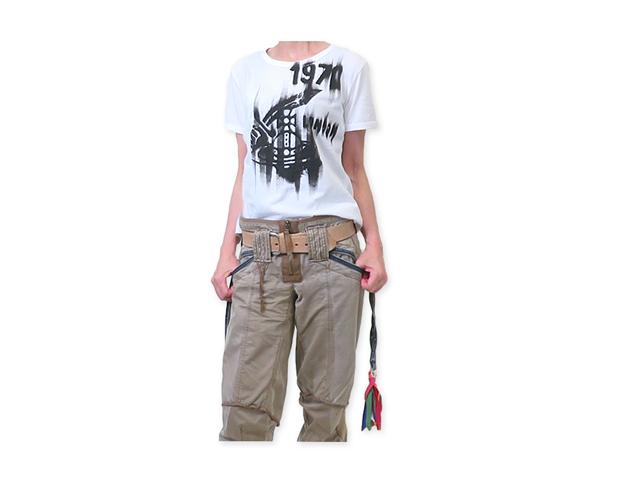 【ヴィヴィアン ウエストウッド 】レディース◇40(M〜L)サイズ◇アートなアングロマニアプリントが効くホワイトTシャツ☆彡20%OFF