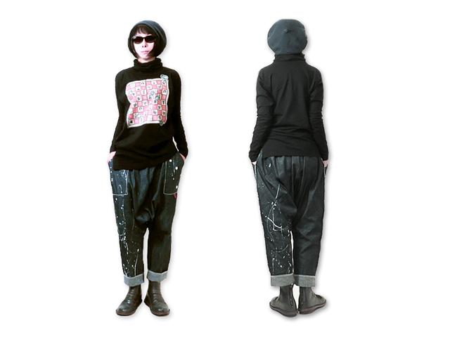 【Vivienne Westwood】レディ-ス◇02(M)サイズ☆春のプリント3Dタートルカットソー☆優しい肌触りのコットン素材で気持ち良く☆彡20%OFF